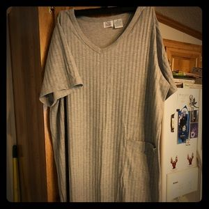 Brand New Gray Plus Night Shirt